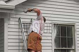 Worker painting service